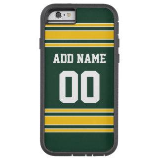 Jersey del fútbol con número conocido de encargo funda para  iPhone 6 tough xtreme