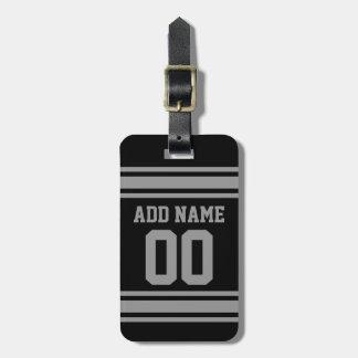 Jersey del fútbol - personalizar con su Info Etiquetas Para Equipaje