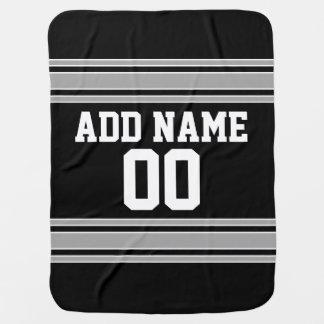 Jersey del fútbol - personalizar con su Info Mantitas Para Bebé