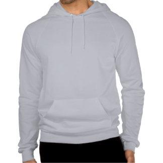 Jersey del suéter con capucha del golpe del trance camiseta