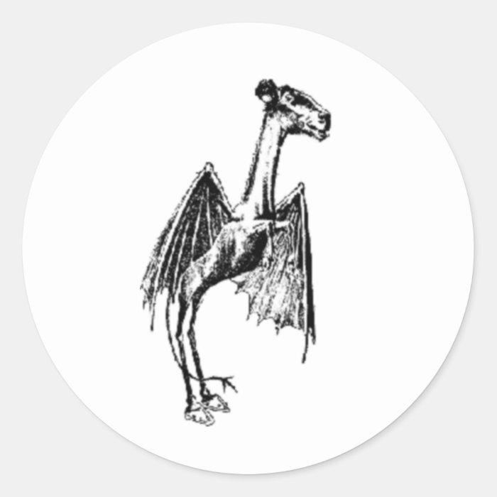 Jersey Devil Classic Round Sticker