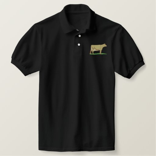 Jersey Embroidered Polo Shirt