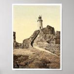 Jersey, faro de Corbiere, III, Islas del Canal, Impresiones