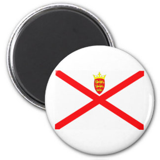 Jersey Flag 2 Inch Round Magnet