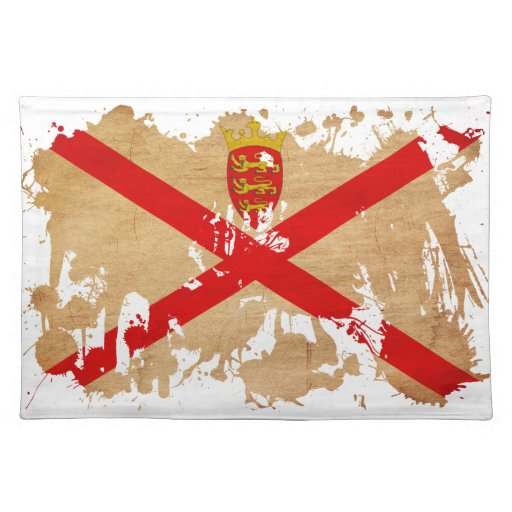 Jersey Flag Cloth Placemat