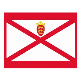 Jersey Flag Postcards
