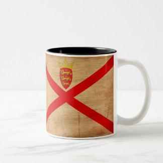 Jersey Flag Two-Tone Coffee Mug