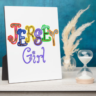 Jersey Girl 8x10 Plaques