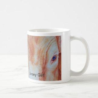 Jersey Girl by Janet Means Belich, Jersey Girl Coffee Mug