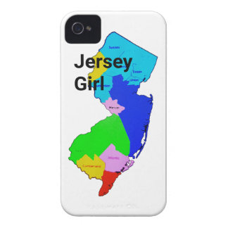 Jersey Girl Colorful iPhone 4 Case-Mate Cases