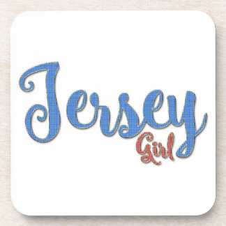 Jersey Girl Diamond design Coaster
