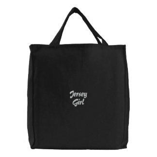 JERSEY GIRL Embroidered Bag