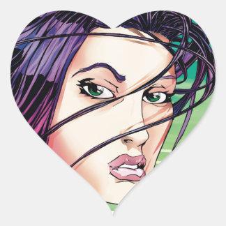 Jersey Girl Heart Sticker