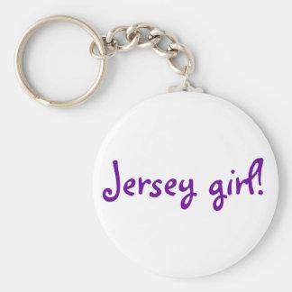 Jersey girl! keychain