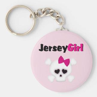 Jersey Girl Keychain
