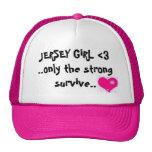 jersey girl mesh hat