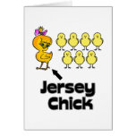 Jersey Girl one of a kind Greeting Card
