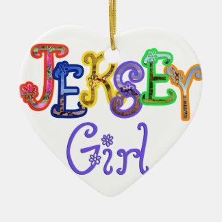 Jersey Girl Ornament
