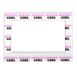 Jersey Girl Photo Frame Magnets