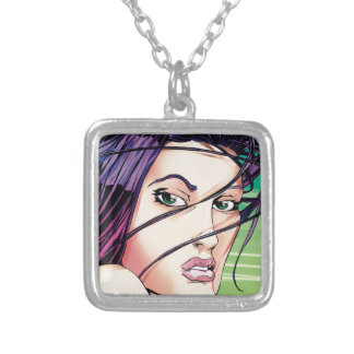 Jersey Girl Silver Plated Necklace