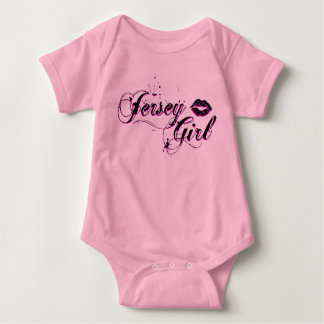 Jersey Girl T-shirts, Apparel & Gifts Baby Bodysuit