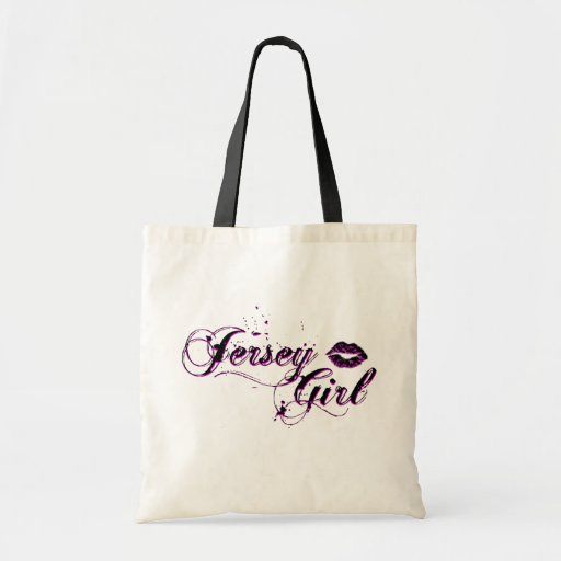 Jersey Girl T-shirts, Apparel & Gifts Budget Tote Bag