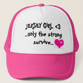jersey girl trucker hat