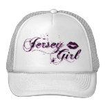 Jersey Girl White Baseball Cap Trucker Hat