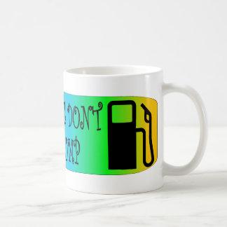 Jersey Girls Don't Pump Gas Classic White Coffee Mug
