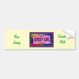 Jersey Girls Gal Bumper Sticker
