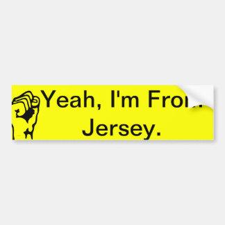 Jersey Goods Bumper Sticker