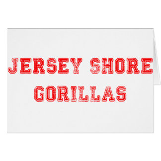 Jersey Gorillas Card