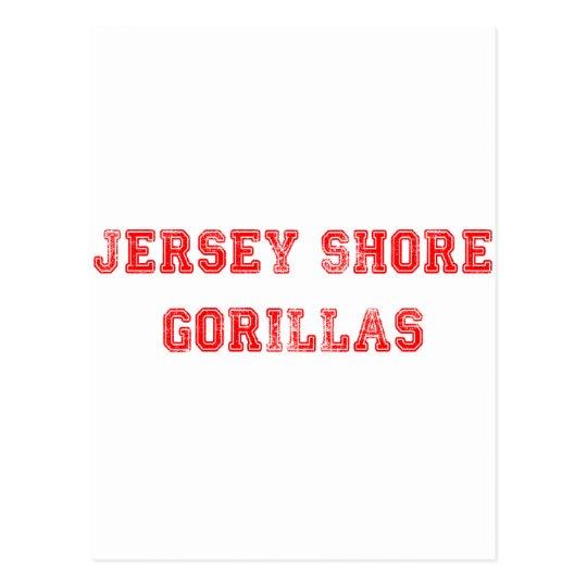 Jersey Gorillas Postcard