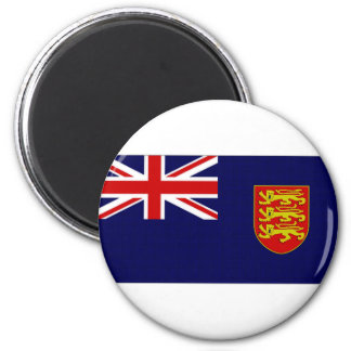 Jersey Government Ensign 2 Inch Round Magnet