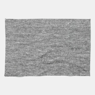 Jersey Grey Cotton Texture Hand Towels