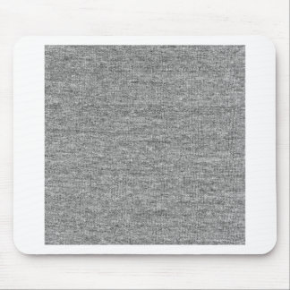 Jersey Grey Cotton Texture Mouse Pad