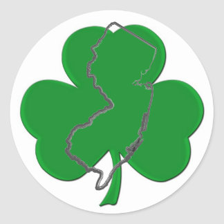 Jersey Irish Sticker