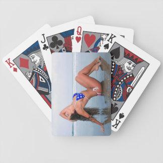 Playing cards bikini