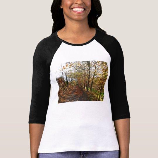 Jersey lane in autumn T-Shirt
