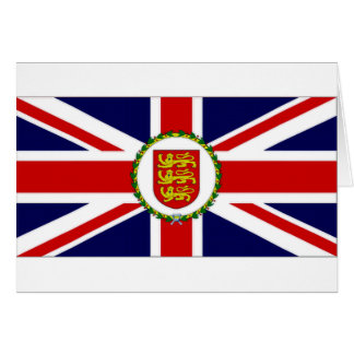 Jersey Lieutenant Governor Flag Greeting Card