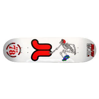 Jersey Local 78 Skelly Custom Skate Board