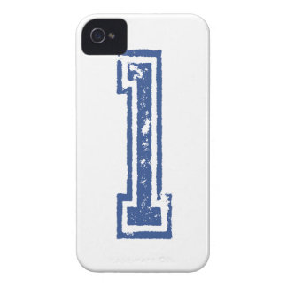 jersey number 1 iPhone 4 Case-Mate case