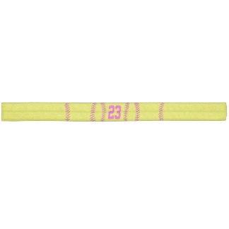 Jersey NUMBER / MONOGRAM Softball Hair Accessories Elastic Hair Tie
