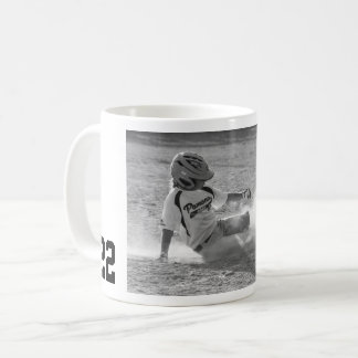 Jersey Number Sports Photo Coffee Mug