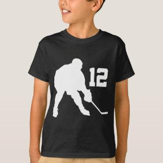 Jersey número 12 del jugador del hockey sobre