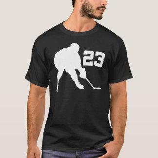 Jersey número 23 del jugador del hockey sobre