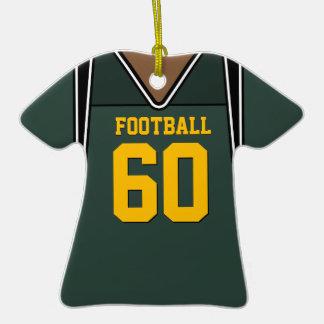 Jersey personalizado 60 V2 del fútbol del verde/de Ornamentos De Reyes Magos