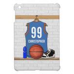 Jersey personalizado del baloncesto (libras) iPad mini protectores