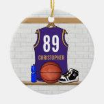 Jersey personalizado del baloncesto (PÁGINA) Ornato