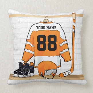 Jersey personalizado del hockey sobre hielo almohadas